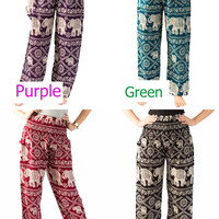 Harem pants Gypsy pants Street pants Thai pants Hippie clothes Elephant clothes Palazzo pants Hippie pants Elephant pants