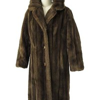 Vintage Faux Mink Coat-Faux Fur Coats