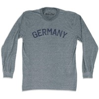 Germany City Vintage Long Sleeve T-shirt