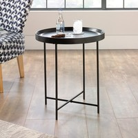 Sauder Harvey Park Side Table Black Finish