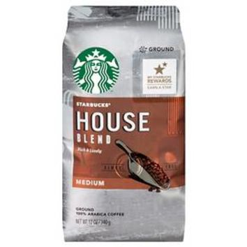 Starbucks House Blend Ground Coffee 12oz : Target