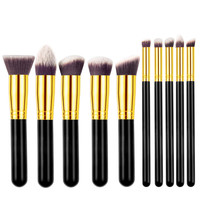 Maquiagem 10 Piece Makeup Brush Set