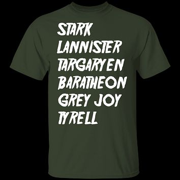 Game of Thrones Mighty Houses T-Shirt