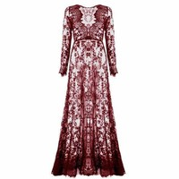 Lace Boho Gown