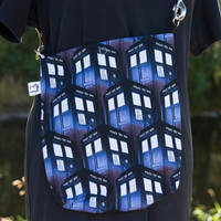 Doctor Who TARDIS Mini Messenger Bag
