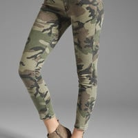 TEXTILE Elizabeth and James Ozzy Skinny in Olive Camo from REVOLVEclothing.com