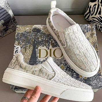 Dior Women's Fashion Loafers Shoes