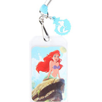 Disney The Little Mermaid Ariel Silhouette Lanyard