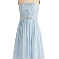 Custom A-line Strapless Sleeveless Knee-length Chiffon Bridesmaid Dress With Sashes Free Shipping
