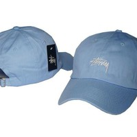 Stussy Women Men Embroidery Sports Hip Hop Baseball Cap Hat