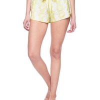 White / Citric Ani Daisy Lace Short by Juicy Couture,