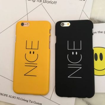 Nice smiling face Phone Case Cover for Apple iPhone 7 7 Plus 5S 5 SE 6 6S 6 Plus 6S Plus + Nice gift box! LJ161006-005