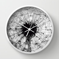 dandelion Wall Clock by ingz