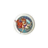 Disney The Little Mermaid Ariel Crest Pin
