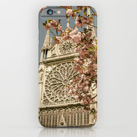 Notre Dame In Spring iPhone & iPod Case by Pati Designs