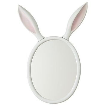 Good Hare Day Wall Mirror in Mirrors | The Land of Nod