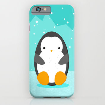 Penguin iPhone & iPod Case by EDrawings38