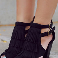 Gypsy Chic Heel - Black