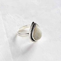Lizzy Teardrop Moonstone Ring