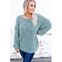 The Stasia Knit Sweater (Mint) FINAL SALE
