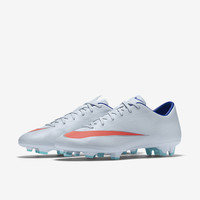 The Nike Mercurial Victory V Women's Firm-Ground Soccer Cleat.