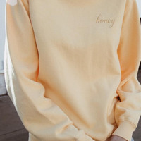 Erica Honey Sweatshirt