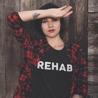 REHAB Women's Casual T-Shirt