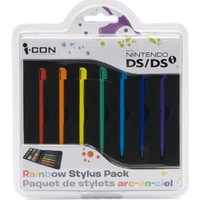 Rainbow Stylus Pack for DS / DSi
