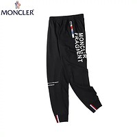 MONCLER 2019 latest men's and women's wild casual pants Black