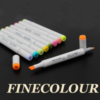 160 Colors Optional Double Headed Sketch Marker Pen Set Painting Sketch Art Copic Marker Pens Stationery Marker
