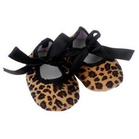 DCK7YE Kids Baby shoes girls Bowknot Leopard Printing Newborn Cloth Shoes baby shoes