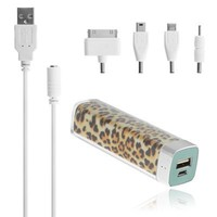 Chromo Inc.® 2600mAH Power Charger Battery Bank for iPhone 4/4s, Various Cell Phones and Digital Devices