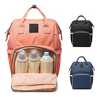 Fahion Mummy Maternity Nappy Diaper Bag Baby Care Backpack Maternity Bags Baby Stuff Large Capacity Travel Baby Bag Nursing Bags