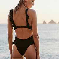 Rodeo Keyhole One-Piece Swimsuit