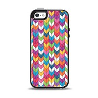The Color Knitted Apple iPhone 5-5s Otterbox Symmetry Case Skin Set