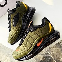 NIKE MAX-720-818 Shoe Man Sports Sneakers Army green