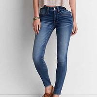 AEO Super Soft Jegging, Jet Indigo