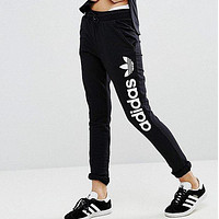 One-nice™ Adidas Women Fashion Print Stretch Trousers Pants Sweatpants