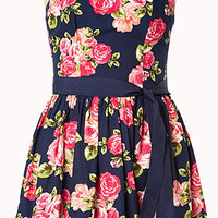 Rosebud Strapless Dress