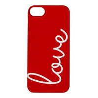 Love iPhone Case Cover 5/5S, 4/4S Red