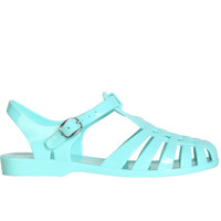 90s Tween Jelly Sandal - Mint