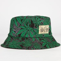 Dgk Home Grown Mens Reversible Bucket Hat Black One Size For Men 23284810001