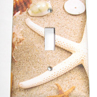 Light Switch Cover - Light Switch Sea Shells