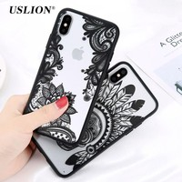 Flower Dirt-Resistant Phone Case For Iphone X 10 0916-08