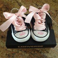 Kids blinged shoes
