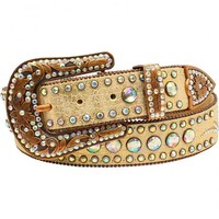 Nocona Women's Scroll Round Concho Belt - Sheplers