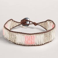 AEO Beaded Bar Bracelet   American Eagle Outfitters