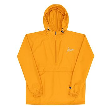 Signature Fizzm x Champion Packable Orange Gold Jacket