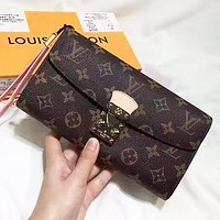 LV Louis Vuitton New fashion monogram leather wallet purse