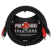 Pig Hog Solutions RCA-RCA Dual Cable
